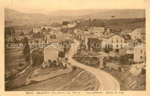 AK / Ansichtskarte Blavozy Vue generale Route du Puy Blavozy