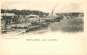 AK / Ansichtskarte Port de Bouc Le Chenal Port de Bouc