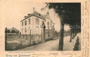 AK / Ansichtskarte Schlettstadt Amtsgericht Schlettstadt
