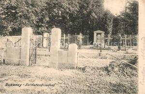 AK / Ansichtskarte Buzancy_Ardennes Soldatenfriedhof Buzancy Ardennes