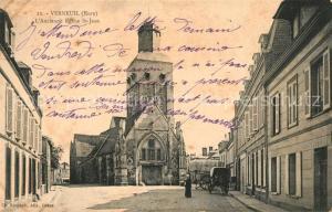 AK / Ansichtskarte Verneuil sur Avre Ancienne Eglise St Jean Verneuil sur Avre