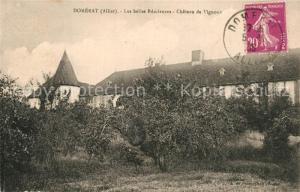 AK / Ansichtskarte Domerat Chateau de Vignoux Domerat