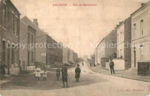 AK / Ansichtskarte Aulnoye Aymeries Rue de Berlaimont Aulnoye Aymeries