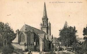AK / Ansichtskarte Le_Juch Abside de l Eglise Le_Juch