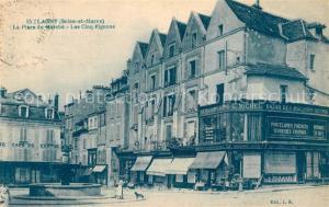 AK / Ansichtskarte Lagny sur Marne La Place du Marche Les Cinq Pignons Lagny sur Marne