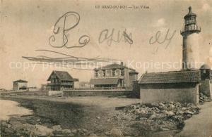AK / Ansichtskarte Le_Grau du Roi_Gard Les Villas Phare Le_Grau du Roi_Gard