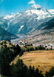 AK / Ansichtskarte Lanslevillard Vue generale et la Dent Parrachee Alpes Lanslevillard