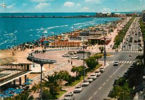 AK / Ansichtskarte Pescara Lungomare e spiaggia Pescara