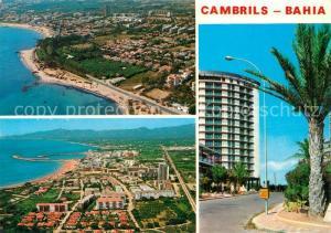 AK / Ansichtskarte Cambrils Vista general y playa Cambrils