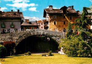 AK / Ansichtskarte Aosta Ponte Romano Roemische Bruecke Aosta