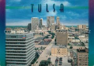 AK / Ansichtskarte Tulsa Stadtpanorama Hochhaeuser