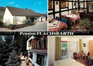 AK / Ansichtskarte Oberhundem Pension Flachsbarth Oberhundem