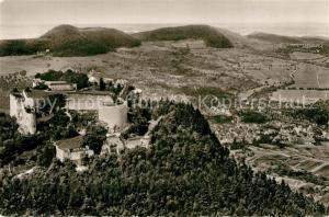 AK / Ansichtskarte Neuffen Fliegeraufnahme Burg Hohen Neuffen Neuffen