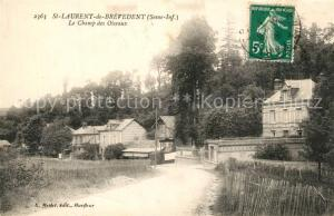 AK / Ansichtskarte Saint Laurent de Brevedent Champ des Oiseaux Saint Laurent de Brevedent
