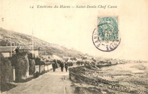AK / Ansichtskarte Saint_Denis_Chef_Caux Promenade Plage Saint_Denis_Chef_Caux