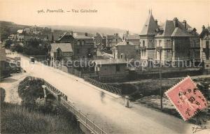 AK / Ansichtskarte Pourville_sur_Mer Vue generale Pourville_sur_Mer