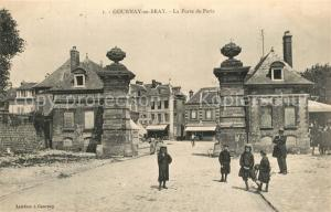 AK / Ansichtskarte Gournay en Bray Porte de Paris Gournay en Bray