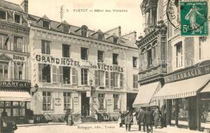 AK / Ansichtskarte Yvetot Hotel des Victoires Yvetot