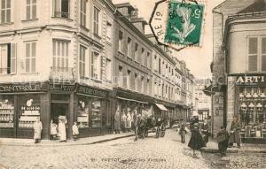 AK / Ansichtskarte Yvetot Rue des Victoires Yvetot
