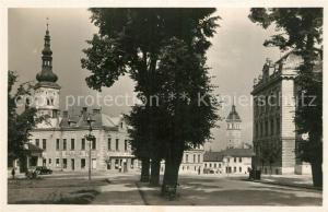 AK / Ansichtskarte Vyskov Partie in der Innenstadt Vyskov