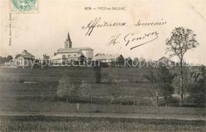 AK / Ansichtskarte Viuz en Sallaz Kirche Panorama Viuz en Sallaz
