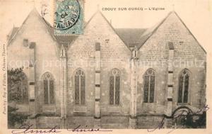 AK / Ansichtskarte Crouy sur Ourcq Eglise Crouy sur Ourcq