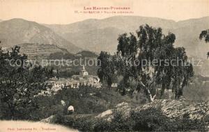 AK / Ansichtskarte Saint Savin_Hautes Pyrenees Panorama Saint Savin
