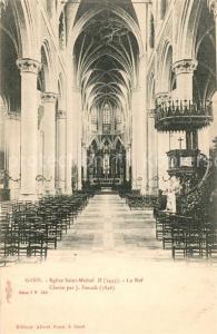 AK / Ansichtskarte Gand_Belgien Eglise Saint Michel  Gand Belgien