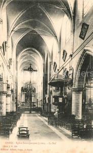 AK / Ansichtskarte Gand_Belgien Eglise Saint Jacques Gand Belgien