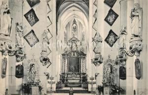 AK / Ansichtskarte Gand_Belgien Eglise Saint Nicolas Interieur Gand Belgien