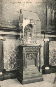 AK / Ansichtskarte Hoogstraeten In de Kerk de Bloedkast Hoogstraeten