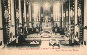 AK / Ansichtskarte Ans Chapelle des Filles de la Charite Interieur Ans