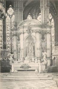 AK / Ansichtskarte Tournai_Hainaut Le Maitre Autel de la Cathedrale Tournai Hainaut
