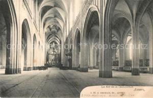 AK / Ansichtskarte Anvers_Antwerpen La Nef de la Cathedrale Anvers Antwerpen