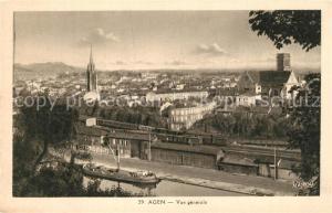 AK / Ansichtskarte Agen_Lot_et_Garonne Panorama Agen_Lot_et_Garonne