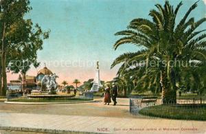 AK / Ansichtskarte Nice_Alpes_Maritimes Nouveaux Jardins Monument Centenaire Nice_Alpes_Maritimes