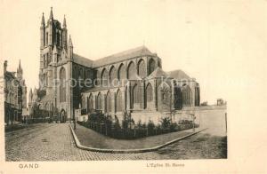 AK / Ansichtskarte Gand_Belgien Eglise Saint Bavon Gand Belgien