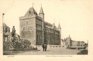 AK / Ansichtskarte Gand_Belgien Chateau de Gerard le Diablo Gand Belgien