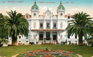 AK / Ansichtskarte Monte Carlo Casino Monte Carlo