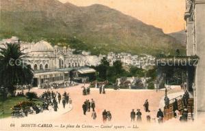 AK / Ansichtskarte Monte Carlo Casino Platz Monte Carlo