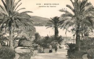 AK / Ansichtskarte Monte Carlo Jardins du Casino Monte Carlo