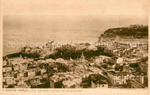 AK / Ansichtskarte Monte Carlo Fliegeraufnahme Monte Carlo