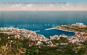 AK / Ansichtskarte Monaco Panorama de la Principaut Monaco