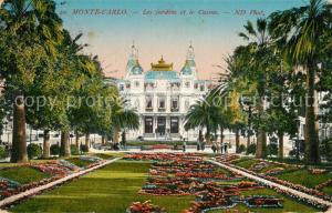 AK / Ansichtskarte Monte Carlo Les Jardins et le Casino Monte Carlo