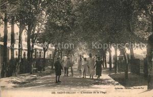 AK / Ansichtskarte Saint Gilles Croix de Vie_Vendee Avenue de la plage Saint Gilles Croix de Vie