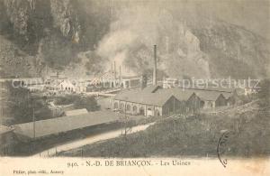 AK / Ansichtskarte Notre Dame de Briancon Les Usines