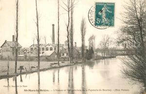 AK / Ansichtskarte Saint Mars la Briere Huisne et Papeterie du Bourray Saint Mars la Briere