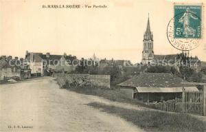 AK / Ansichtskarte Saint Mars la Briere Vue partielle Eglise Saint Mars la Briere