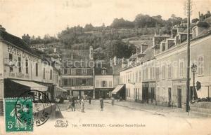 AK / Ansichtskarte Montereau Fault Yonne Carrefour Saint Nicolas Montereau Fault Yonne
