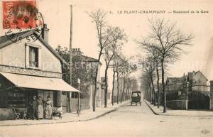 AK / Ansichtskarte Le_Plant_Champigny Boulevard de la Gare
